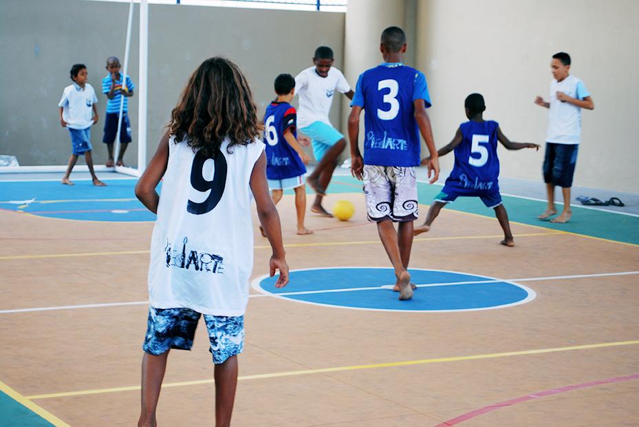 Celebração final do projeto. Futebol no Piedarte