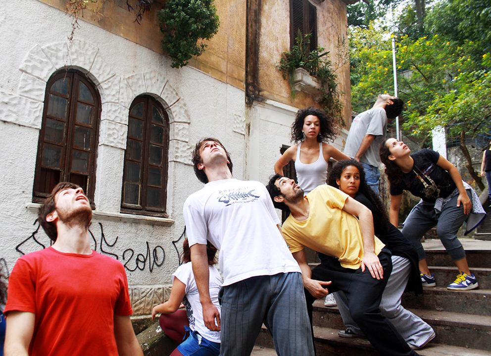 Ensaio do grupo Teatro Geográfico na Casa M. Foto: Camila Cunha