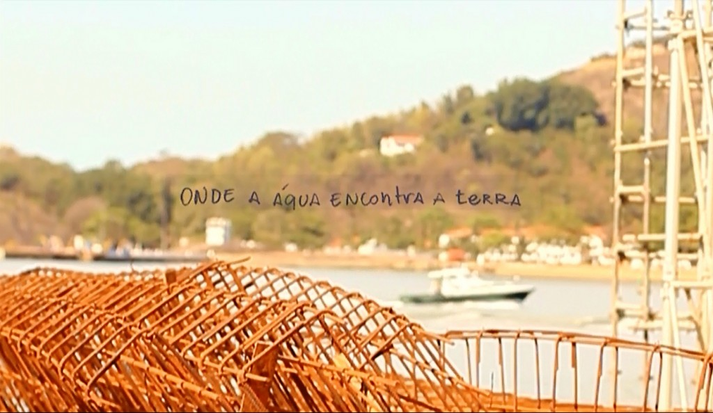 Cais das Artes. Still from the vídeo documentary Cais das Artes – Um maciço eco poético, by artist Ivo Godoy. Made by: State of Espírito Santo & FGV Projetos.