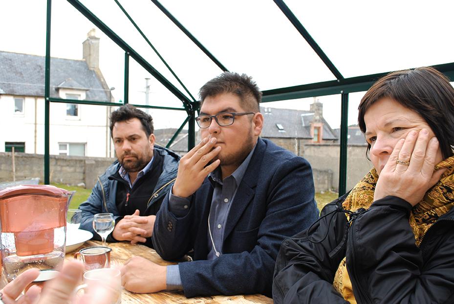 Nuno Sacramento, Gibran Villalobos e Mary Jane Jacob: curadores internacionais do projeto Fernweh