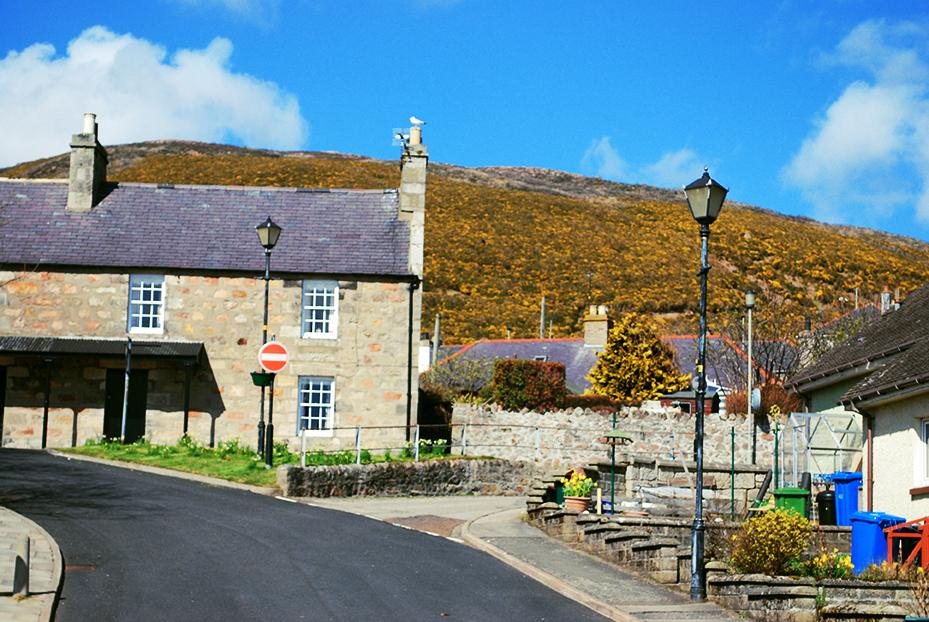 Vila de Helmsdale, Escócia
