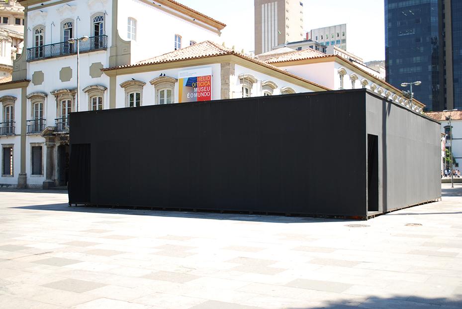 Obra PN16 - Nada. Praça XV, Rio de Janeiro