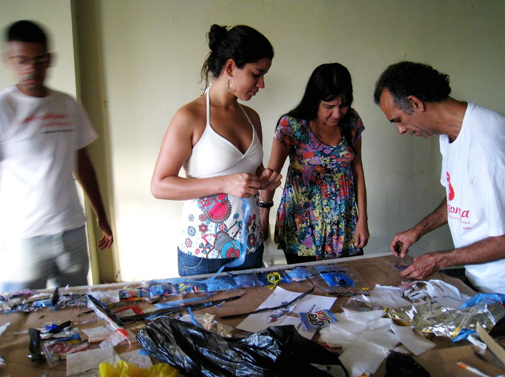 Oficina com o artista Marcos Cardoso
