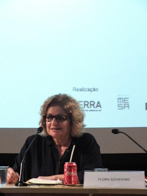 Flora Sussekind keynote. Foto/Photo: Luiz Gustavo Gomes Cardoso  (alunos do Senac)
